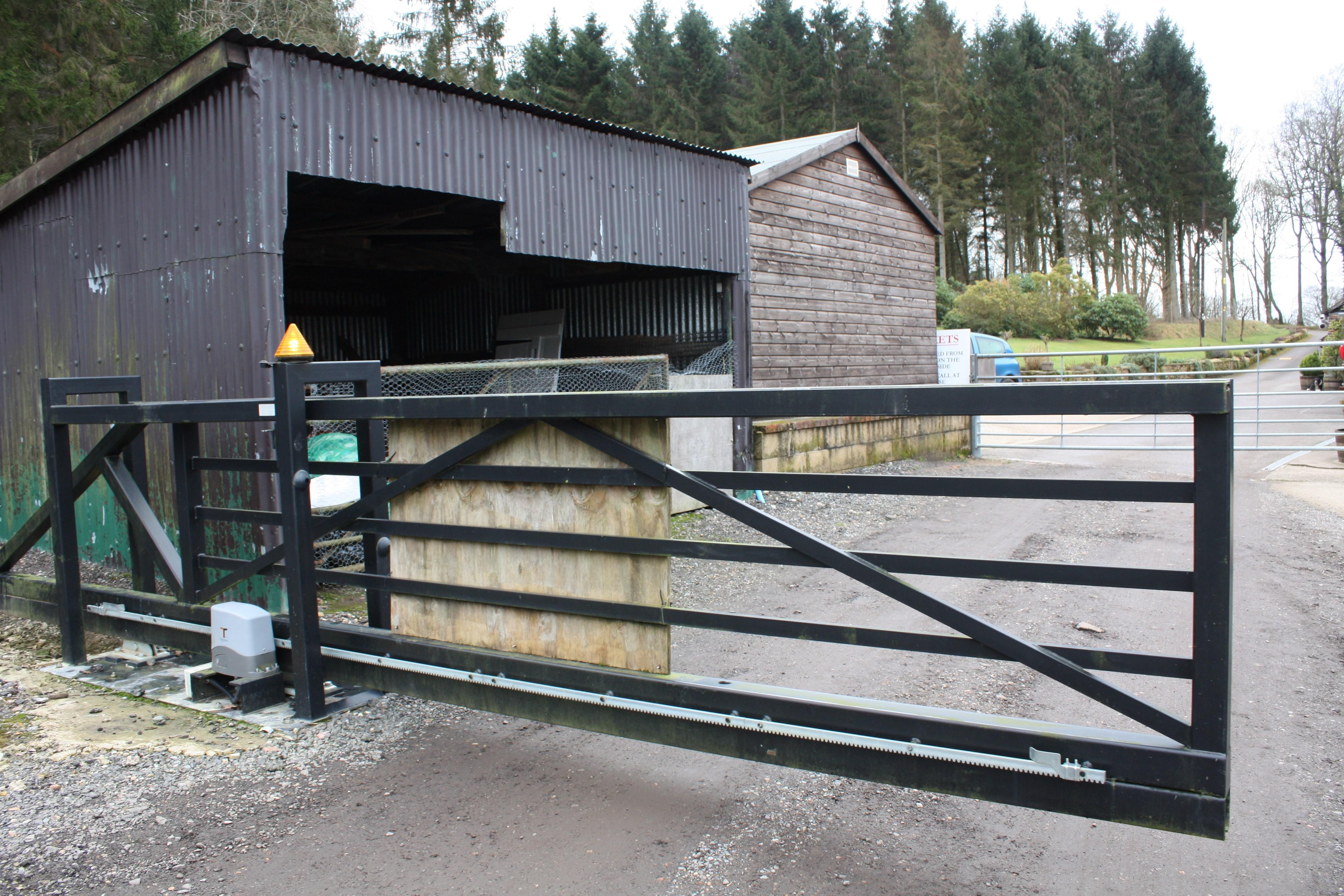Sliding Driveway Gate Ideas