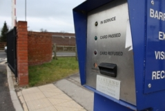 <h5>Parking Control</h5><p>Access control unit </p>