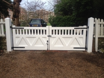 <h5>Gate Automation - 10</h5><p>Bespoke hand finished wooden automated gates in Sussex</p>