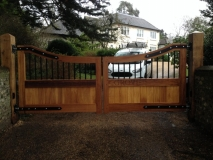 <h5>Design 20</h5><p>Automated Wooden Gates</p>